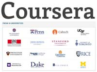COURSERA Free Courses Online From World-Class Universities